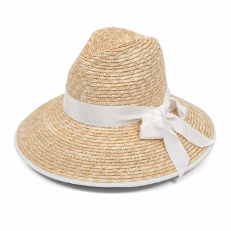 Gottex Women's Celine Sunhat in Natural/White Adjustable