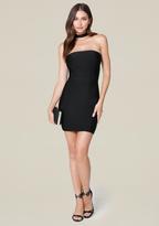 Bebe Christina Mock Neck Dress