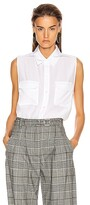 Thumbnail for your product : Equipment Slim Signature Top in White