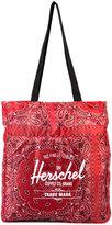 Herschel logo print shopping bag