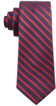 Tommy Hilfiger Men's Exotic Slim Stripe Tie