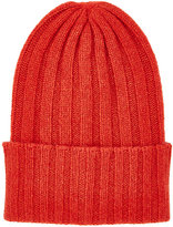 The Elder Statesman Women's Bunny Echo Cashmere Beanie-RED