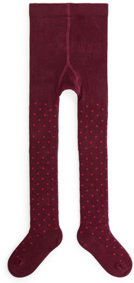 Arket Polka Dot Tights