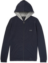 HUGO BOSS Stretch-cotton Jersey Hoodie