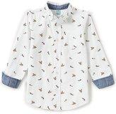 Class Club Big Boys 8-20 Duck-Print Button-Down Shirt