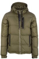Versace men's outerwear down jacket blouson small grid easy regular US size E5GOA916 OUP409