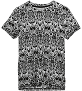 J. Lindeberg Sev Feathers Crew Neck Jersey T-shirt, White