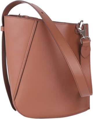 Lanvin Caramel Hook Bucket Bag S