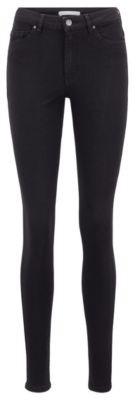 HUGO BOSS Skinny-fit jeans in Stay Black stretch denim