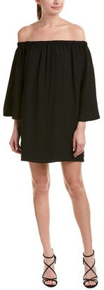 French Connection Women's Summer Crepe Light Off The Shoulder Dress