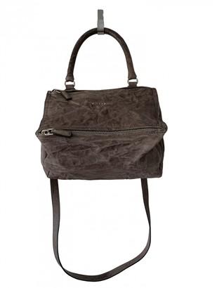 Givenchy Pandora Grey Leather Handbags