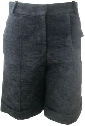 Simone Rocha Black Synthetic Shorts