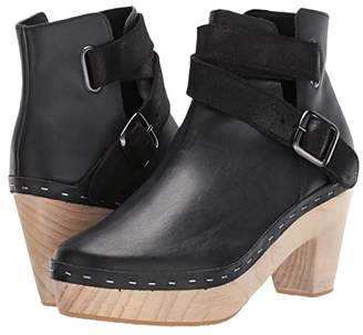 Free People Bungalow Clog Boot (Black) Women's Shoes