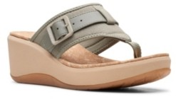 Clarks Cloudsteppers Women's Step Cali Sail Wedge Sandals Women's Shoes