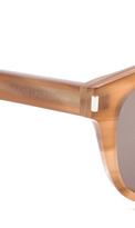 Saint Laurent Classic Preppy Rounded Sunglasses