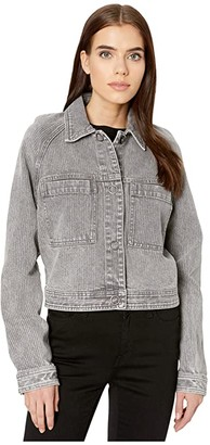 RVCA Kelton Jacket (Grey) Women's Clothing