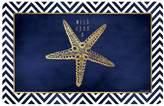 Bungalow Flooring Starfish Wish Indoor Outdoor Comfort Mat - 22'' x 31''