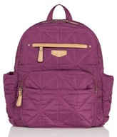 Infant Twelvelittle Quilted Water Resistant Nylon Diaper Backpack - Purple