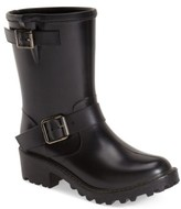 dav Women's Waterproof Moto Boot
