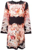 Roberto Cavalli printed A-line dress - women - Silk - 46