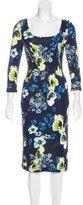 Erdem 2017 Floral Print Dress w/ Tags