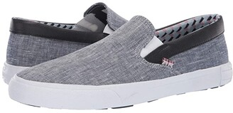 Ben Sherman Pete Slip-On (Navy Linen) Men's Slip on Shoes