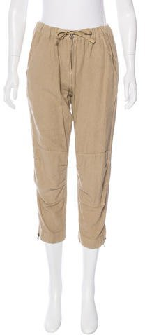 Etoile Isabel Marant High-Rise Cropped Pants