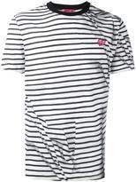 McQ by Alexander McQueen striped swallow T-shirt - men - Cotton - M