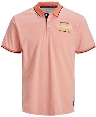 Jack and Jones Embroidered Logo Polo Shirt