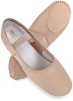 Dance Class Ballet Pink Leather Ballet Flat - Girls