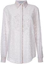 Stella McCartney floral lace shirt