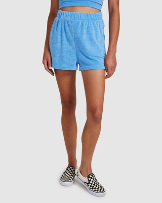 Insight Women's Shorts - Poolside Terry Towelling Shorts - Size One Size, M at The Iconic