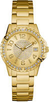 GUESS Women's Gold-Tone Stainless Steel Bracelet Watch 36mm U0779L2