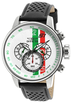 Invicta S1 Rally White, Green & Red Dial Watch, 48mm