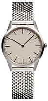 Uniform Wares C35psi01milpsi1818r C35 Bracelet Strap Watch, Silver/cream