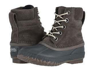 Sorel Cheyanne II Lace (Little Kid/Big Kid) (Major/Coal 1) Boys Shoes