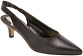 Ros Hommerson Black Nappa Kaitlin Leather Slingback