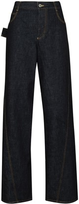 Bottega Veneta Slouchy Wide-Leg Jeans