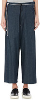 Tim Coppens WOMEN'S DENIM WIDE-LEG DRAWSTRING PANTS