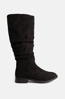 Coast Ruched Knee High Boots