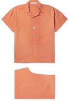Cleverly Laundry - Washed-Cotton Pyjama Set