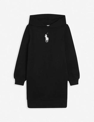 Ralph Lauren Logo-embroidered sweatshirt dress 7-14 years