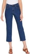 Brooke Shields Timeless BROOKE SHIELDS Timeless Petite Slim Leg Crop Jeans