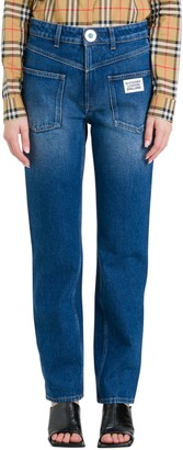 Burberry Inverted Five-pocket Desing Jeans
