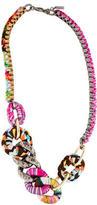 Missoni Woven Chain Necklace