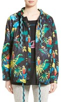 Marc Jacobs Women's Parrot Print Hooded Jacket