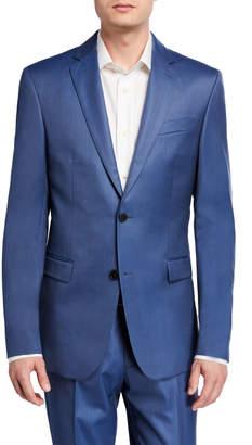 Versace Men's Solid Wool Two-Piece Suit