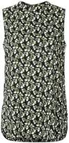 Marni sleeveless print blouse