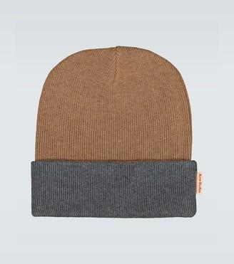 Acne Studios Kaam reversible wool beanie