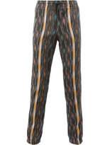 Saint Laurent Ikat Pattern Casual Trousers - Multicolor - Size FR58